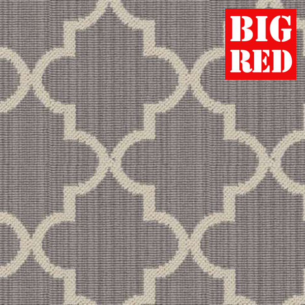 Axminster Carpets Royal Borough Wilton Collection Trellis Windsor Steel Mid Grey