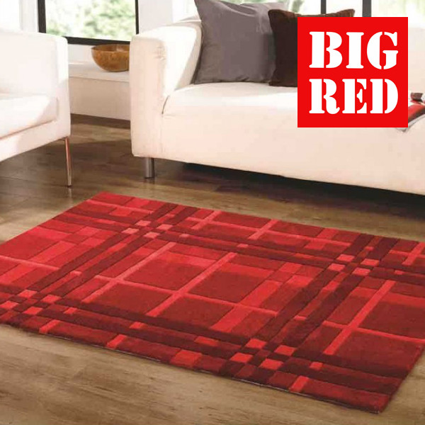 Funky Weave Red Infinite Flair Rugs Best Prices In
