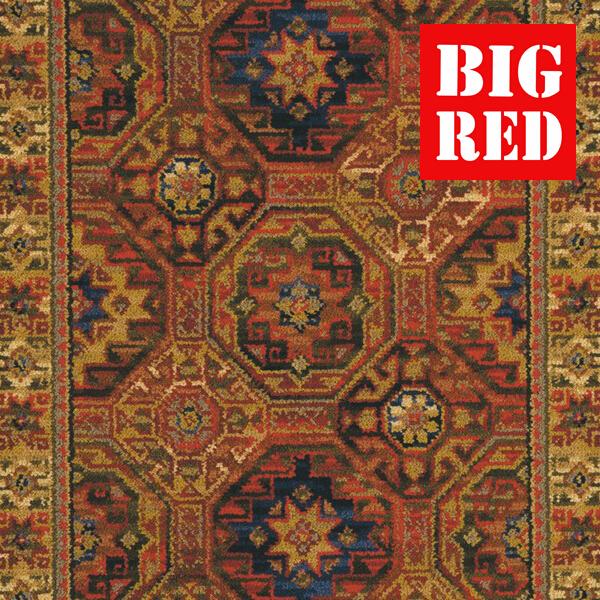 Ulster Carpets Glenavy Runner Red
